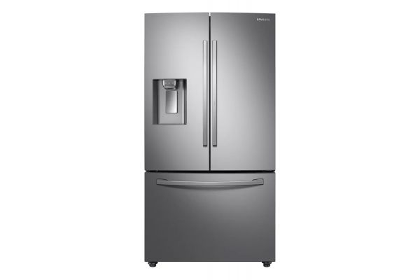 Samsung Fingerprint Resistant Stainless Steel 3-Door French Door Refrigerator - RF28R6301SR