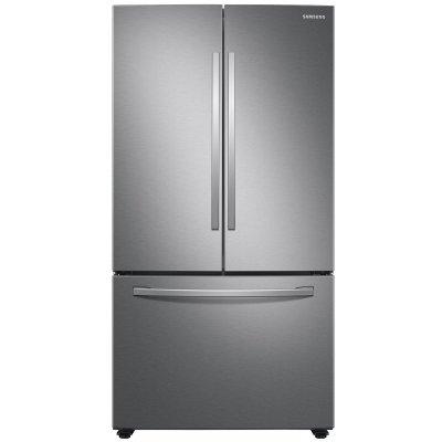 Samsung 28 Cu. Ft. Fingerprint Resistant Stainless Steel Large Capacity 3-Door French Door Refrigerator