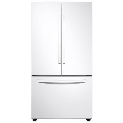 Samsung 28 Cu. Ft. White Large Capacity 3-Door French Door Refrigerator