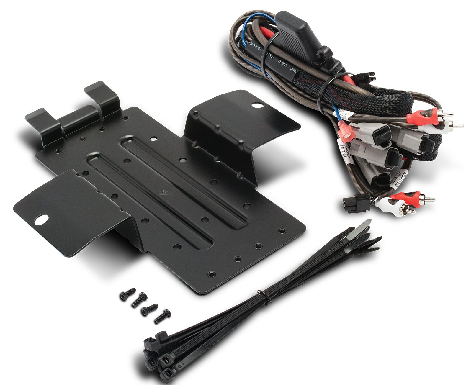 Rockford Fosgate Amp Kit And Mount Plate Select Yxz Models Rfyxz K8 Specs Mounting For