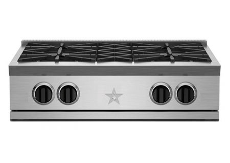 "BlueStar 30"" RNB RGTNB Series Stainless Steel Gas Rangetop - RGTNB304BV2"
