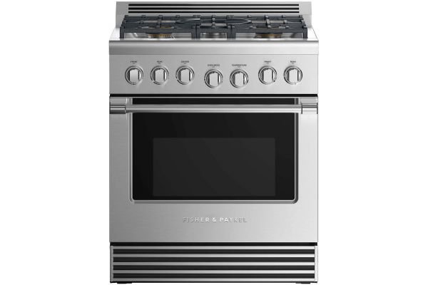 "Fisher & Paykel 30"" Professional Style Stainless Steel Gas Range - RGV2-305-N_N"