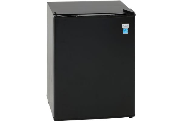 Large image of Avanti 2.4 Cu. Ft. Black Refrigerator With Chiller Compartment - RM24T1B