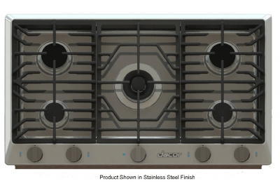 Dacor - RNCT365GB/LP - Gas Cooktops