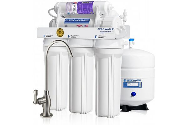 APEC Water Alkaline Mineral 90 GPD 6-Stage High Output Reverse Osmosis Drinking Water System - RO-PH90