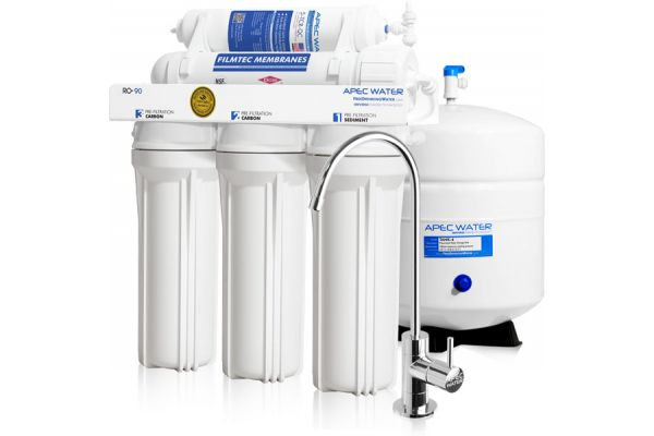 Large image of APEC Water Ultimate Series Under-Sink Reverse Osmosis Drinking Water Filter System - RO-90