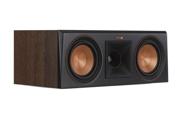 Large image of Klipsch RP-500C Walnut Center Channel Speaker - 1065820
