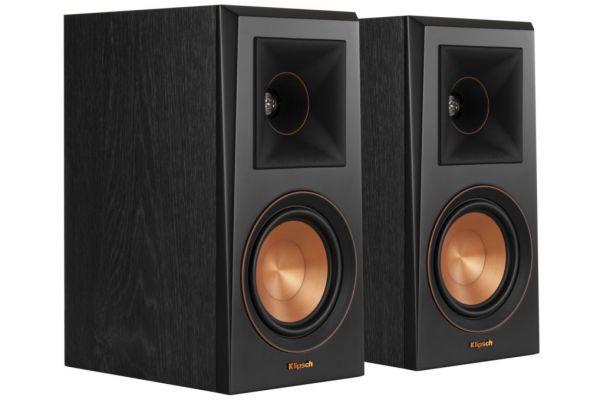 Large image of Klipsch RP-500M Ebony Bookshelf Speakers (Pair) - 1065807