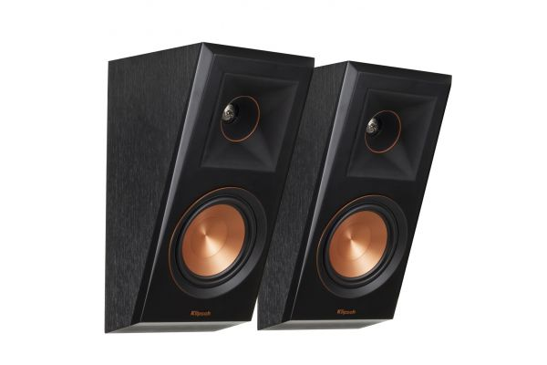 Large image of Klipsch Ebony Dolby Atmos Elevation / Surround Speakers (Pair) - 1066507