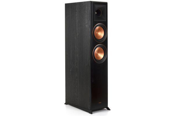 Large image of Klipsch RP-6000F Ebony Floorstanding Speaker (Each) - 1065798