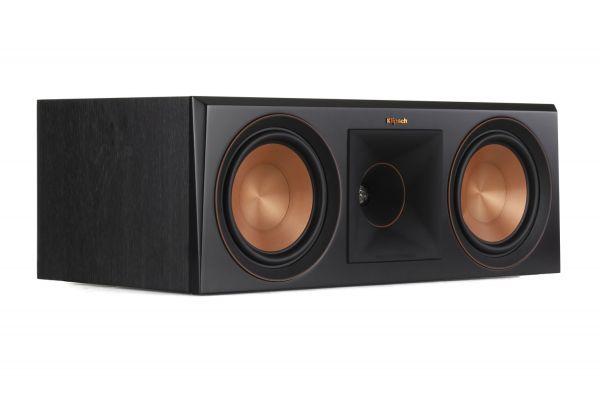 Large image of Klipsch RP-600C Ebony Center Channel Speaker - 1065816