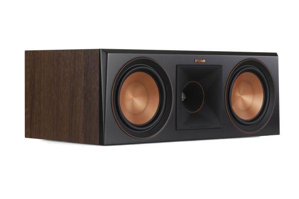 Large image of Klipsch RP-600C Walnut Center Channel Speaker - 1065817