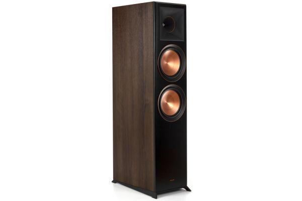 Large image of Klipsch RP-8000F Walnut Floorstanding Speaker (Each) - 1065796