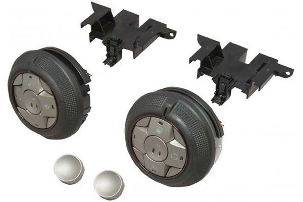 Large image of PAC Audio Climate Control Knob Set For Camaro - RPA-KNOB1