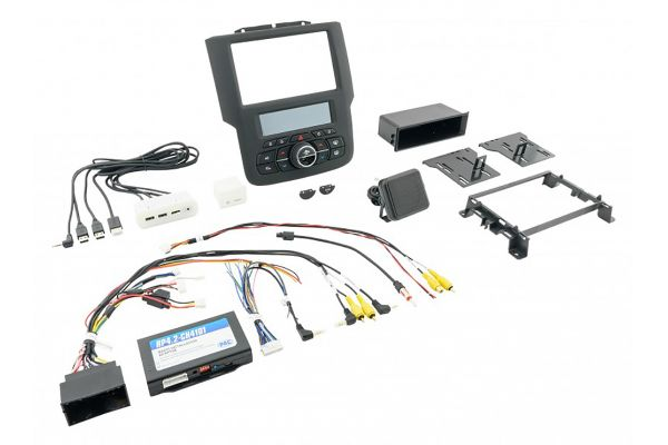 "Large image of PAC Audio RadioPRO Integrated Installation Kit With Integrated Climate Controls For Select RAM Trucks With 8"" Display - RPK4-CH4101"