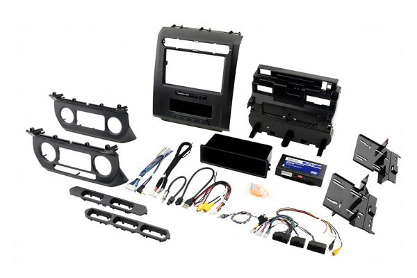 """Large image of PAC Audio Complete Radio Replacement Kit With Integrated Climate Controls For Select Fords With 8"""" Display - RPK4-FD2101"""