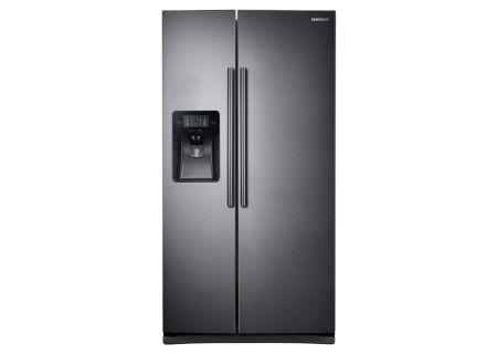 Samsung - RS25J500DSG - Side-by-Side Refrigerators