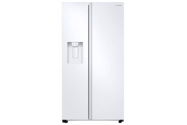 Large image of Samsung 27.4 Cu. Ft. Large Capacity White Side-By-Side Refrigerator - RS27T5200WW/AA