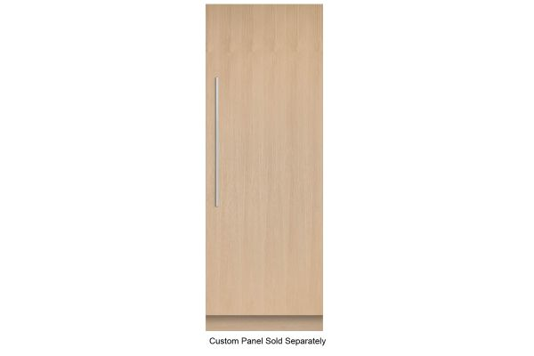 """Large image of Fisher & Paykel 30"""" Panel Ready Right-Hinge Built-In Column Freezer With Ice Maker - RS3084FRJK1"""