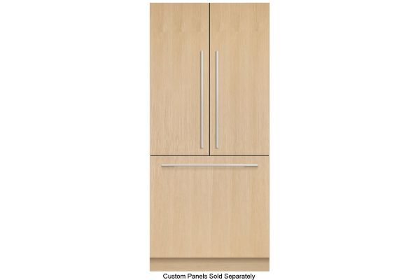 """Large image of Fisher & Paykel 36"""" Panel Ready Built-In French Door Refrigerator, Ice - RS36A80J1N"""