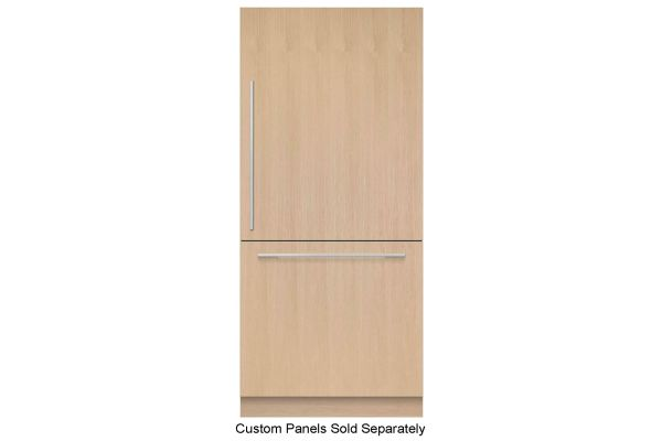 """Large image of Fisher & Paykel Series 7 36"""" Panel Ready Right-Hinge Built-In Bottom Freezer Refrigerator, Ice - RS36W80RJ1N"""