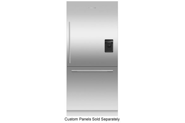 """Large image of Fisher & Paykel Series 7 36"""" Panel Ready Right-Hinge Built-In Bottom Freezer Refrigerator, Ice & Water - RS36W80RU1N"""