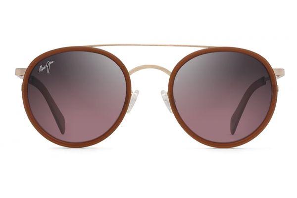 Large image of Maui Jim Even Keel Rose Gold Polarized Sunglasses - RS534-16R