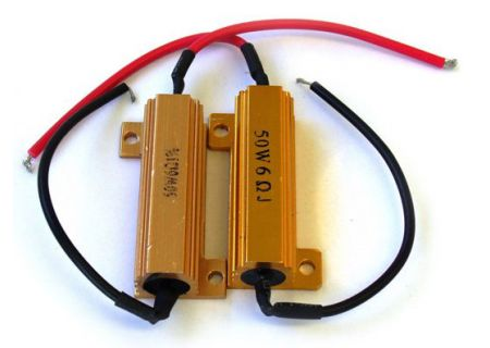 Race Sport Lighting 6 Ohm 50 Watt Load Resistors  - RS6OHM50WATT
