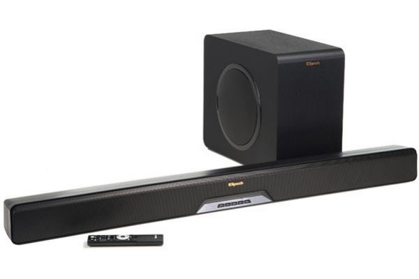 Klipsch Black Sound Bar With Wireless Subwoofer - RSB14