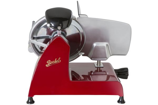 Large image of Berkel Red Line 250 Red Electric Food Slicer - RSEGM0U000000