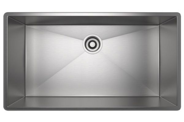Large image of Rohl Single Bowl Stainless Steel Kitchen Sink - RSS2716SB