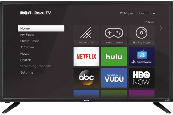 "RCA 40"" LED HD Roku Smart TV - RTR4060"
