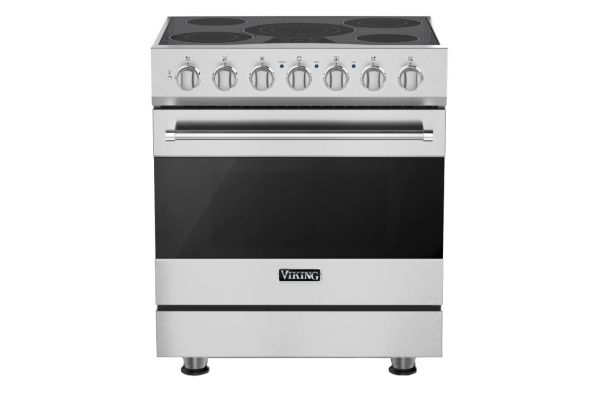 """Large image of Viking 30"""" Stainless Steel Electric Range - RVER33015BSS"""