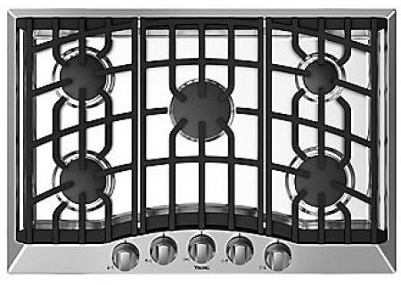 "Viking 36"" Gas Cooktop - RVGC33615BSS"