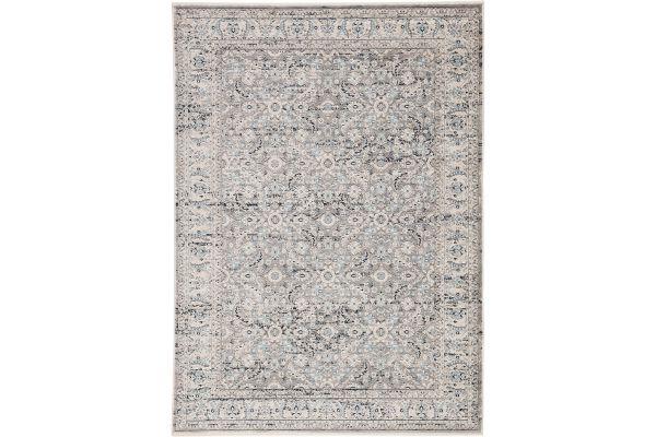 Jaipur Living Revel Collection Shirin Whitecap Gray And Doeskin Area Rug - RVL04-9X12