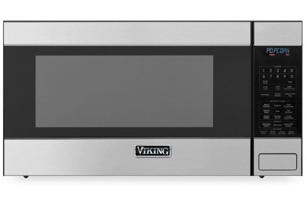 """Viking 24"""" 3 Series 2.0 Cu Ft Stainless Steel Countertop or Built-In Microwave Oven - RVM320SS"""