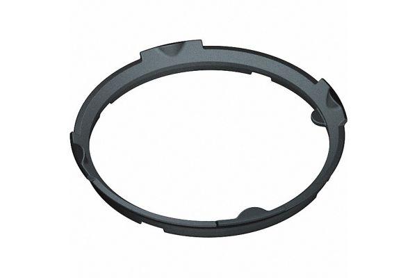Large image of Miele Matte Black Wok Ring - 09974600