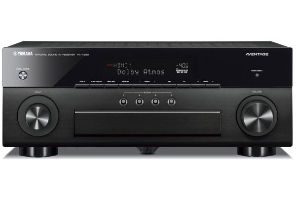 Yamaha AVENTAGE 7.2 Channel Black AV Receiver With MusicCast - RX-A880BL