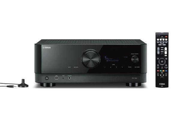 Large image of Yamaha Black 7.2 Channel AV Receiver With 8K HDMI And MusicCast - RX-V6ABL