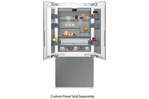 "Gaggenau 36"" 400 Series Panel Ready French Door Refrigerator - RY492704"