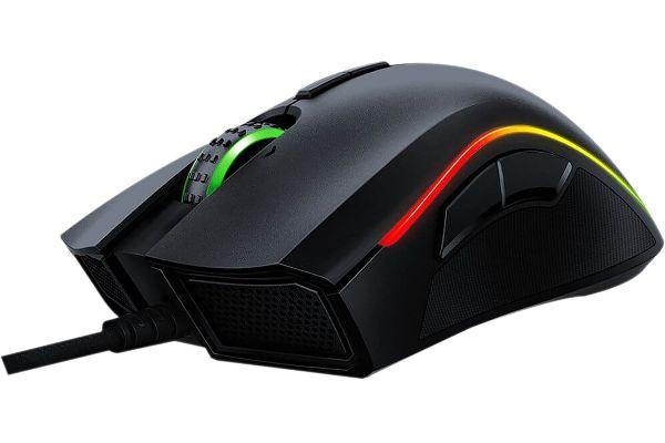 Large image of Razer Mamba Elite Chroma Wired Gaming Mouse - RZ0102560100R3U1