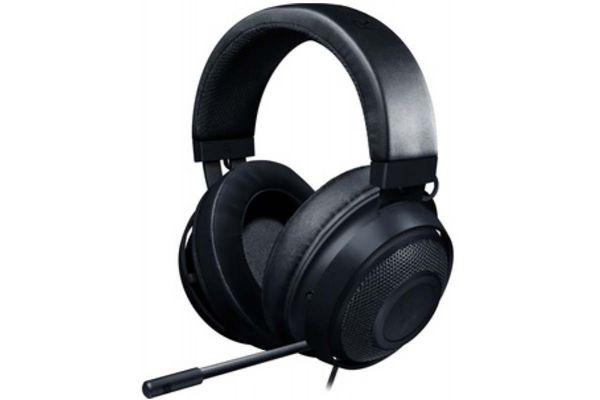 Large image of Razer Kraken Black Wired Gaming Headset - RZ0402830100R3U1