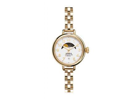 Shinola The Birdy Moon Phase 34mm Womens Watch - S0120008180