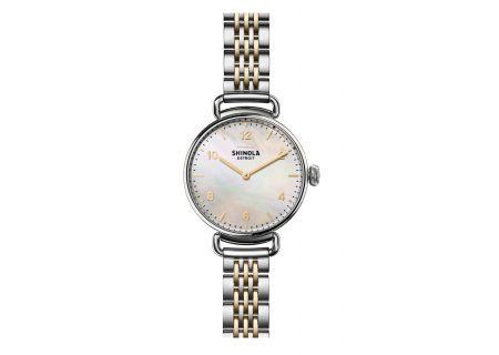 Shinola The Canfield 32MM Two-Tone Womens Watch - S0120018678