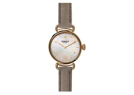 Shinola The Canfield 32MM Rose Gold Womens Watch - S0120018679