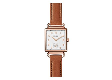 Shinola The Cass 28MM Milky White Dial Womens Watch - S0120020129