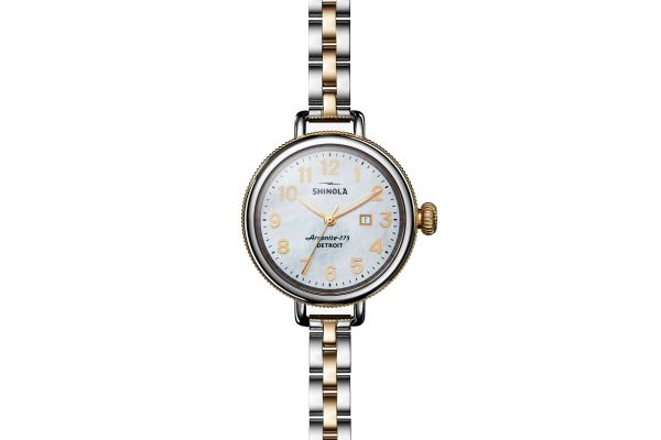 Large image of Shinola The Birdy 34mm Two-Toned Womens Watch - S0120077932