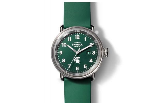 Large image of Shinola The Spartan Detrola 43mm Stainless Steel Mens Watch - S0120183163