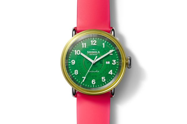 Large image of Shinola The Gummy Worm 43mm Detrola Watch - S0120194498