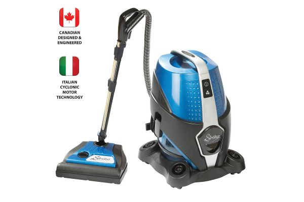 Large image of Sirena Total Home Cleaning System Bagless Water Filter Vacuum Cleaner - S10NA